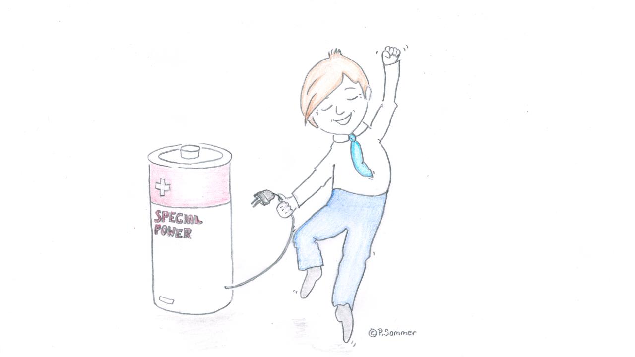 Energietankstelle – Für mehr gute Tage im Leben