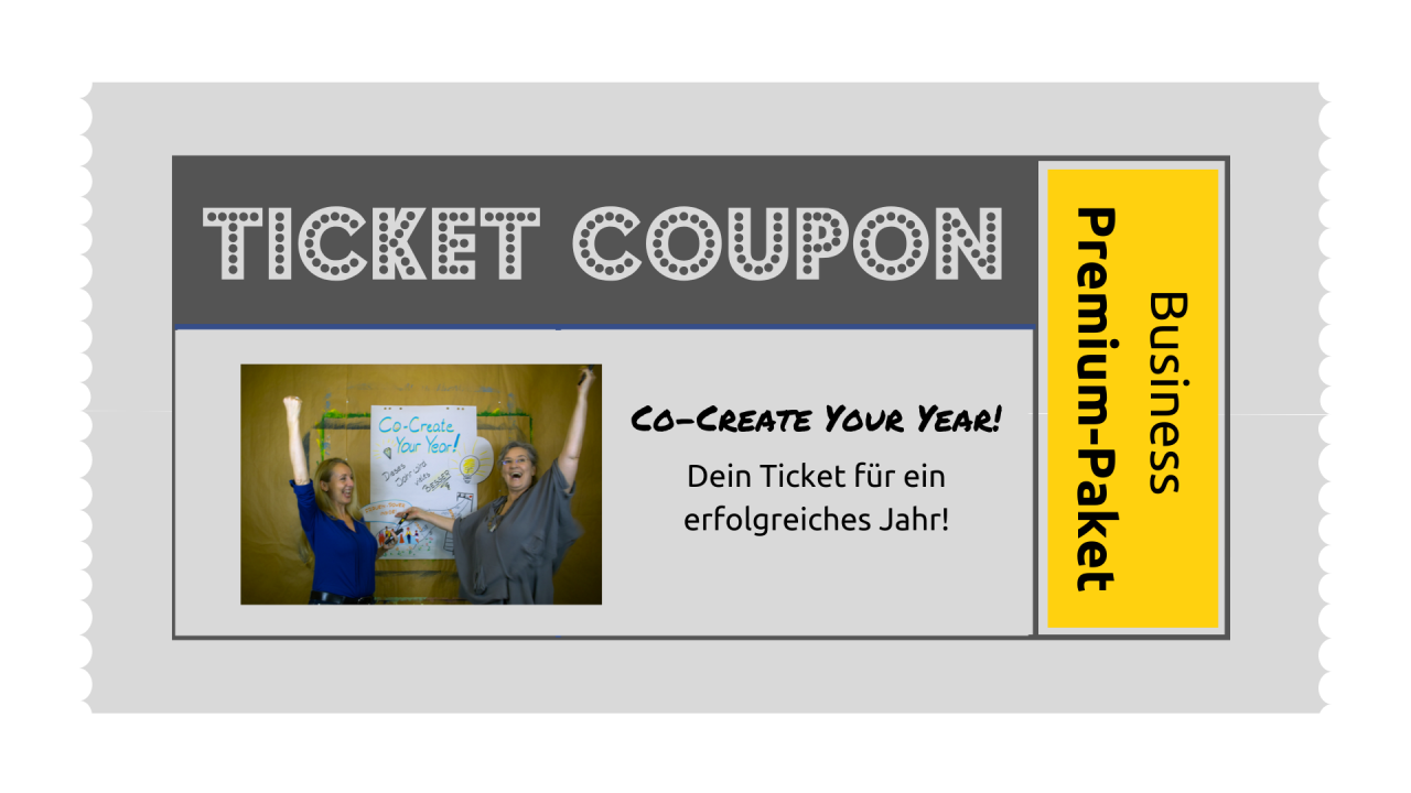 TICKET: Co-Create-Your-Year Business-Premium-Paket