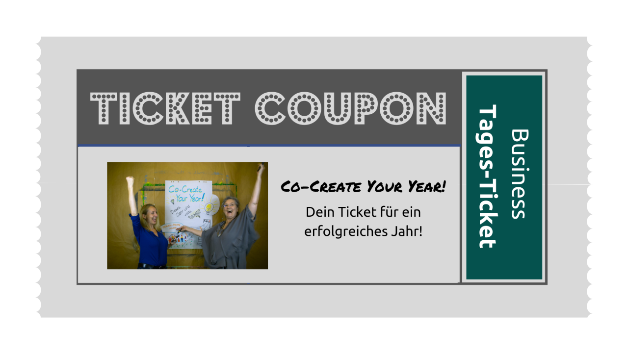 TICKET: Co-Create-Your-Year Business-Intensiv-Workshoptag