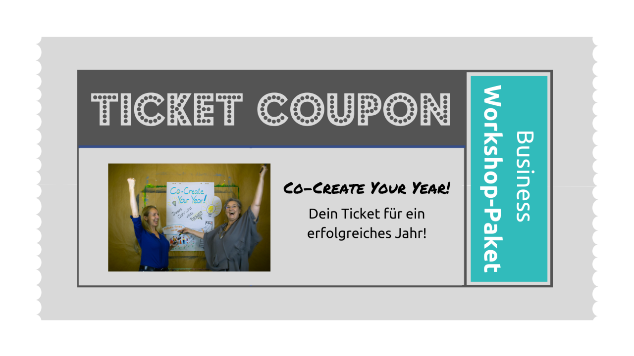 TICKET: Co-Create-Your-Year Business-Workshop-Paket