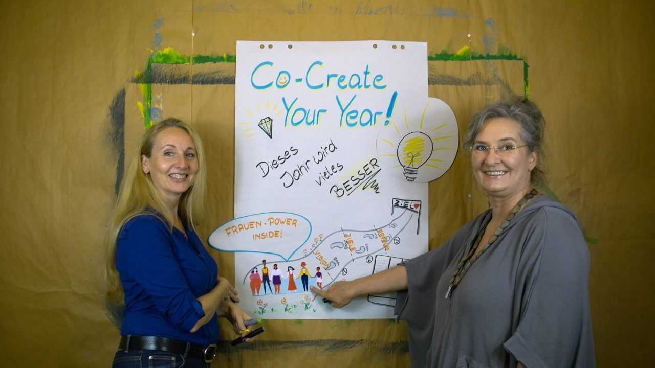 CoCreate Your Year mit Petra & Ulrike